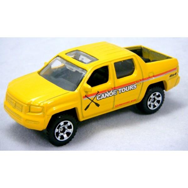 Matchbox Honda Ridgeline Lifeguard Pickup Truck