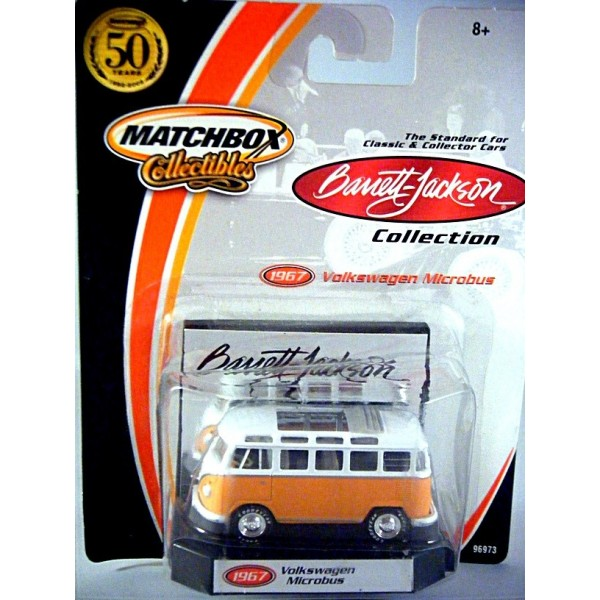 Matchbox Collectibles Barrett Jackson Volkswagen Microbus on Chev Corvair