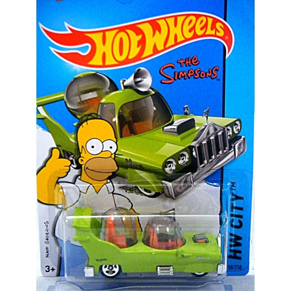 Hot Wheels 2015 New Models - The Simpson's Family Car ...