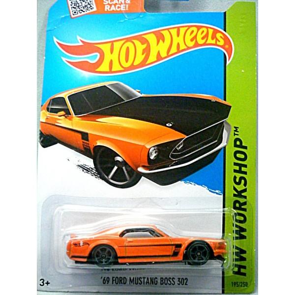Hot Wheels 1969 Ford Mustang Boss 302 Global Diecast
