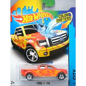 Hot Wheels - Color Shifters - Ford F-150 Pickup Truck