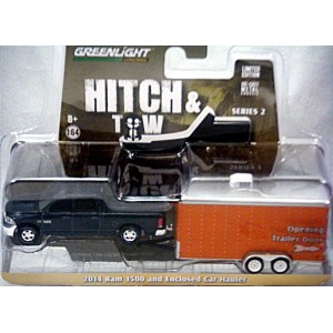 Greenlight Hitch Amp Tow 2014 Dodge Ram 1500 Crew Cab