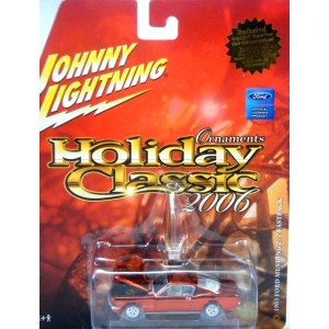 Johnny Lightning Holiday Classics - 1965 Ford Mustang 2+2 Fastback