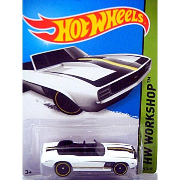 Hot Wheels - 1969 Chevrolet Camaro Convertible - Global ...