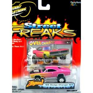 Johnny Lightning Street Freaks 1969 Dodge Charger RT