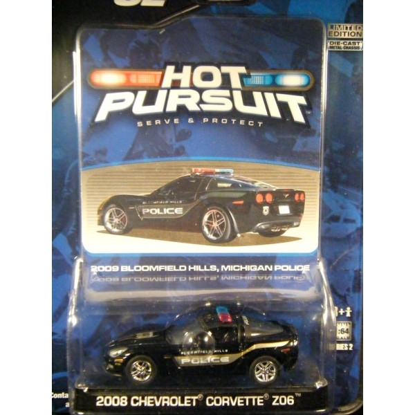 Greenlight Hot Pursuit R-2 Bloomfield Hills, MI Corvette ...