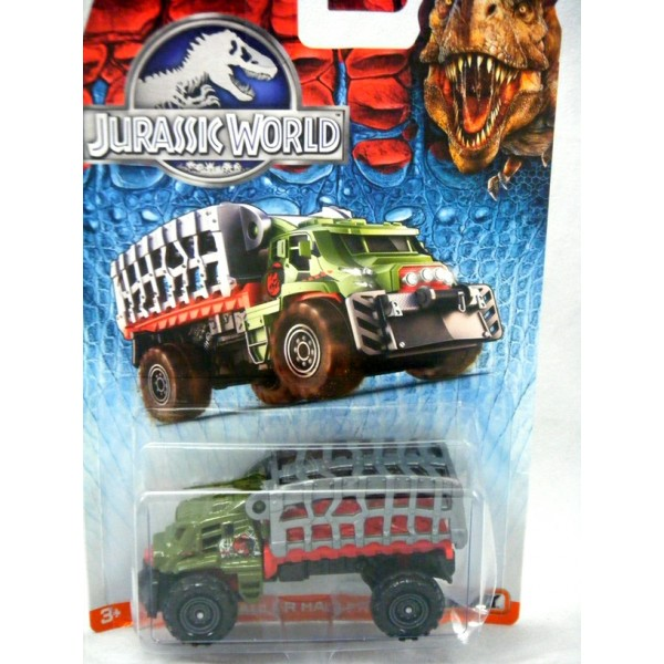 Matchbox Jurassic World - Mauler Hauler Cage Truck ...