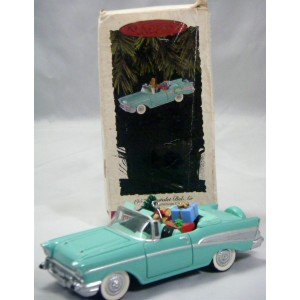 Hallmark - Classic American Car Series - 1957 Chevrolet Bel Air Convertible
