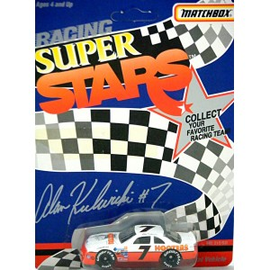 Matchbox NASCAR Super Stars Alan Kulwicki Hooters Ford Thunderbird