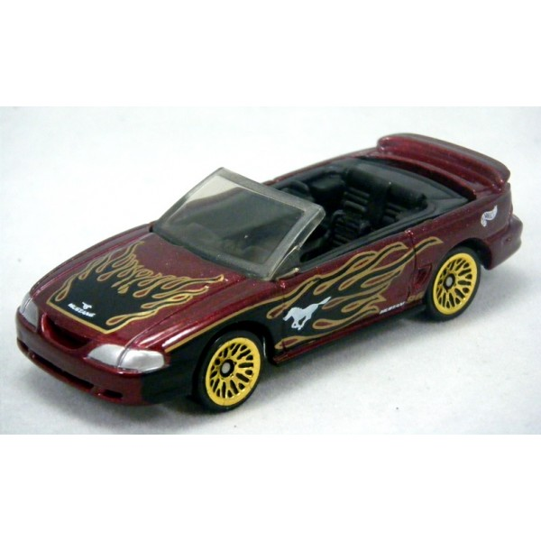 Hot Wheels - 1996 Ford Mustang GT Convertible - Global ...