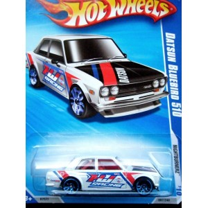 Hot Wheels Datsun Bluebird 210 Sedan SCCA Race Car