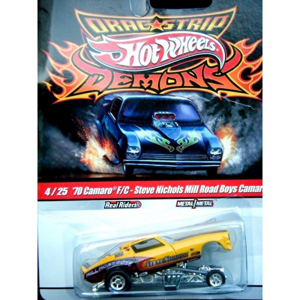 Hot Wheels Dragstrips Demons 1970 Nhra Chevy Camaro