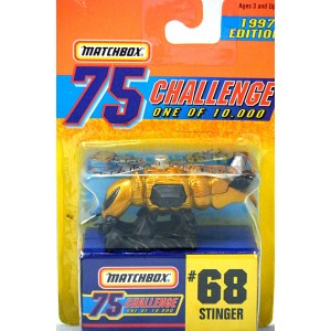 Matchbox Gold Challenge Bumble Bee Stinger