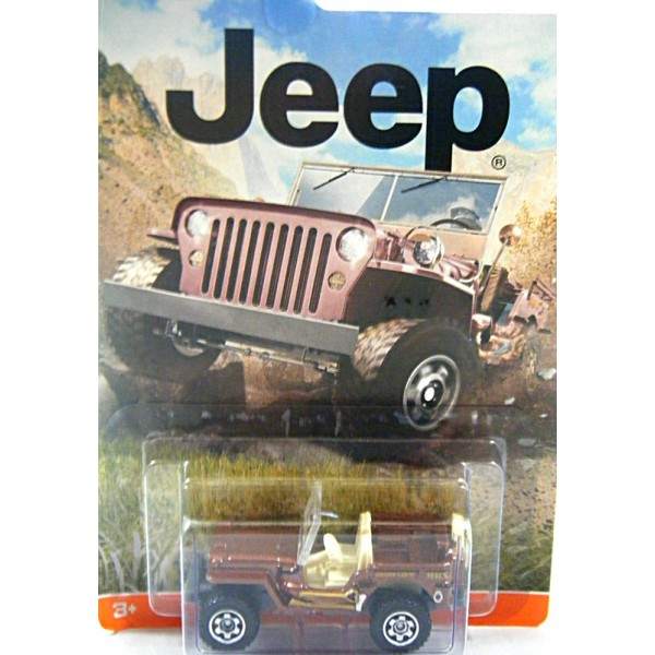 El Monte Toyota >> Matchbox - Jeep Collection - 1943 Jeep WIllys - Global Diecast Direct