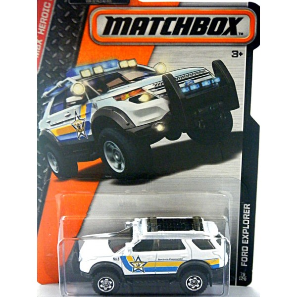 Matchbox Ford Explorer Sheriff S Police Truck Global