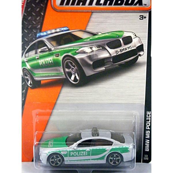Matchbox Bmw M5 Police Car Global Diecast Direct