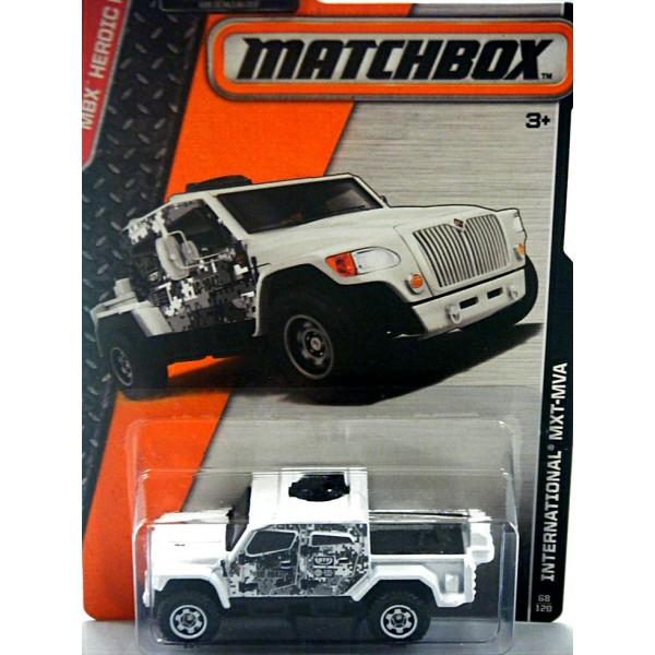 Matchbox International MXT 1//64 loose Military Truck