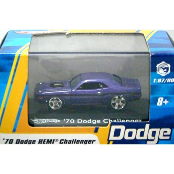Hot Wheels Ho Scale 1970 Dodge Challenger Global Diecast