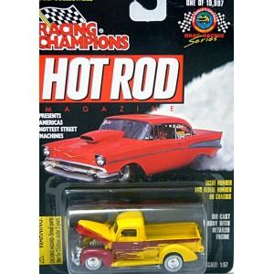 Racing Champions Hot Rod Magazine - 1940 Ford Pickup Truck