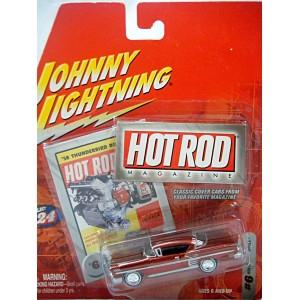 Johnny Lightning Hot Rod Magazine 1958 Chevrolet Impala