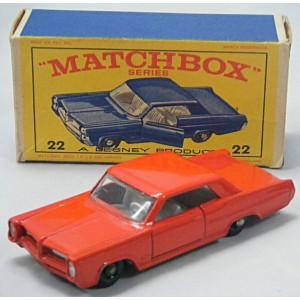 Matchbox: (22C-2) - Pontiac Grand Prix