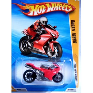 Hot Wheels Ducati 1098r Motorcycle