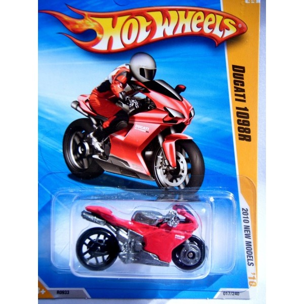 Hot Wheels Ducati 1098r Motorcycle - Global Diecast Direct