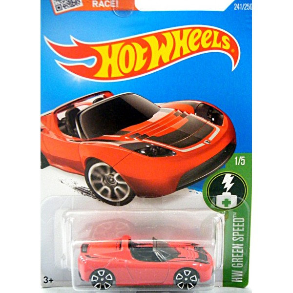 Hot Wheels Tesla Roadster