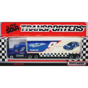 Matchbox Superstars Bill Elliott Melling Transporter