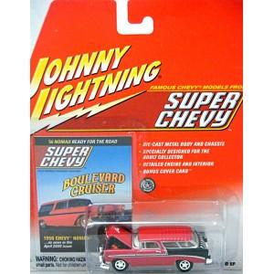 Johnny Lightning Super Chevy Magazine – 1957 Chevrolet Nomad