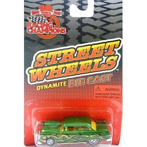 Racing Champions Street Wheels Series - 1957 Chevy Bel Air Hot Rod