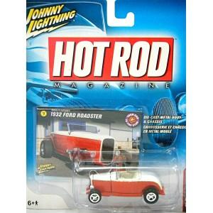 Johnny Lightning Hot Rod Magazine - 32 Ford Deuce Hiboy Roadster