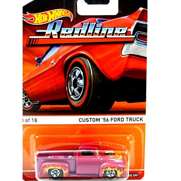 Hot Wheels Redline Custom 56 Ford Hot Rod Pickup Truck Global