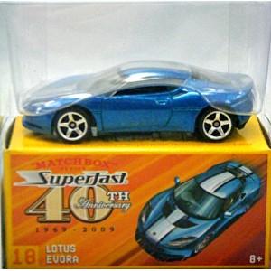 Matchbox Superfast 40th Anniversary - Lotus Evora