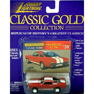 Johnny Lightning 1966 Ford Shelby Mustang GT 350