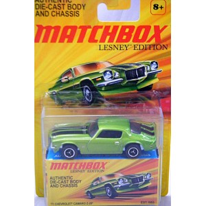 Matchbox Superfast Lesney Edition - 1971 Chevrolet Camaro Z-28