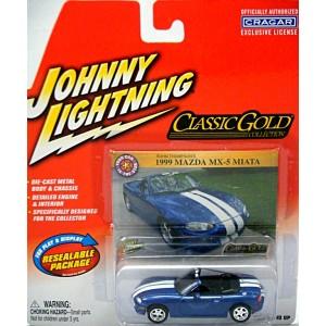 Johnny Lightning - Classic Gold - Mazda Miata MX-5