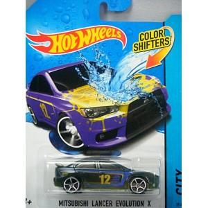 Hot Wheels - Color Shifters - Mitsubishi Lancer Evolution X