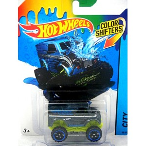 Hot Wheels - Color Shifters - Divco 4x4 Ambulance