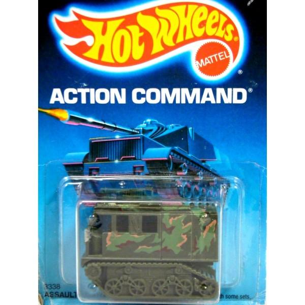 Hot Wheels Action Command Military Assault Crawler
