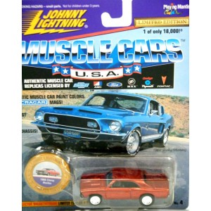 Johnny Lightning Muscle Cars - 1968 Chevrolet Chevelle