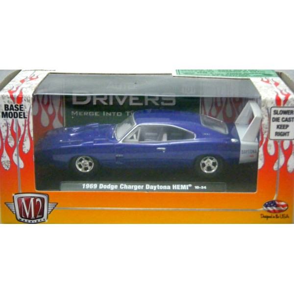 M2 Machines Drivers 1969 Dodge Daytona Hemi Global Diecast Direct