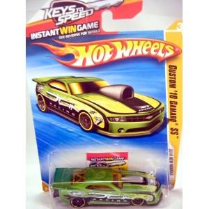 Hot Wheels 2010 New Models Series: 2010 Chevrolet Camaro NHRA Race Car