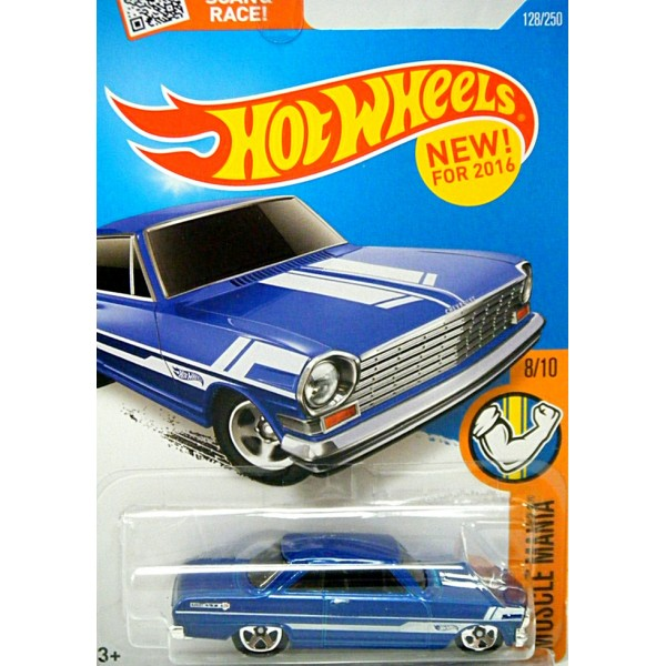 Hot Wheels - 1963 Chevrolet Chevy II - Global Diecast Direct