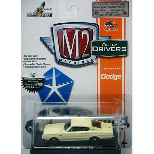 M2 Machines Drivers 1966 Dodge Charger 383 Global Diecast Direct