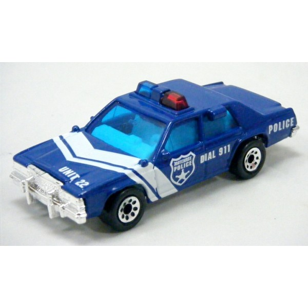 MATCHBOX FORD POLICE INTERCEPTOR - YouTube