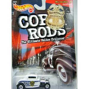 Hot Wheels Cop Rods Trenton NJ Police 33 Ford Roadster