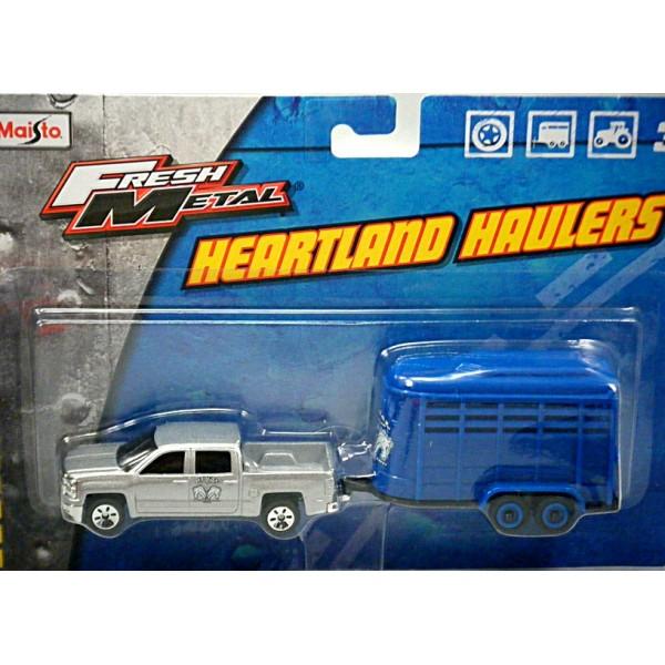 Maisto Heartland Haulers - Chevrolet Silverado and Horse ...