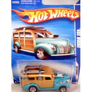 Hot Wheels 1940 Ford Surf Woodie