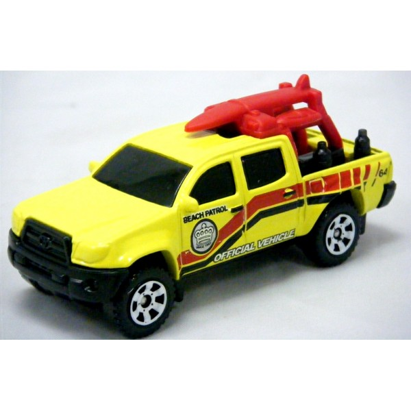 Matchbox - Toyota Tacoma Lifeguard Beach Patrol Pickup - Global Diecast Direct